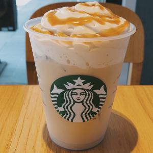 STARBUCKS スターバックスラテon theコーヒーホイップ