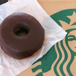 STARBUCKS チョコレートクリームドーナツ