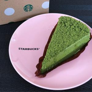 STARBUCKS 宇治抹茶ケーキ