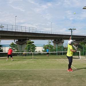テニスと紫陽花・・・。
