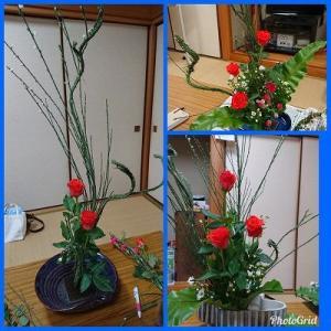 生け花教室・・・。