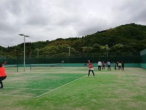 南予女子テニス連盟の練習会
