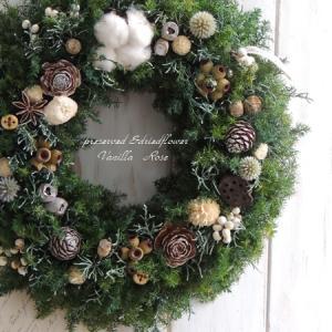 #新作・冬のクリスマスリース