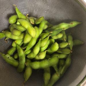 ウルマルシェで買った枝豆♪
