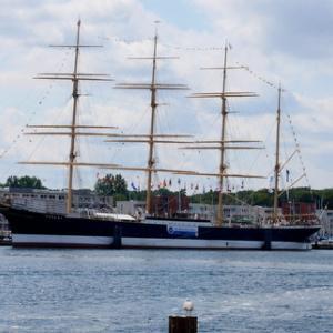 夏のバルト海