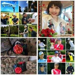 内外ゴルフトーナメント結果+薔薇色の人生+ゼフィランサスにて~♪