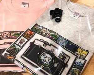 Tシャツ『フィルムカメラ』販売開始
