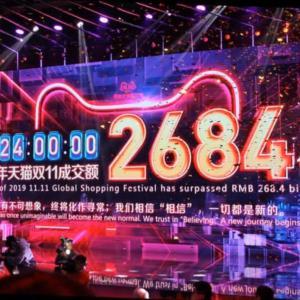 1111☆中国では独身の日