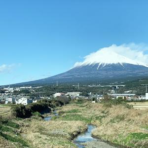 帰りも富士山がキレイでした