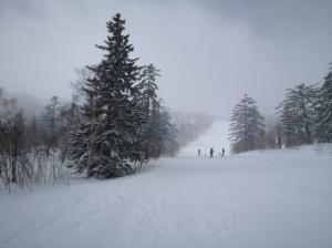 札幌国際スキー場で、2020-2021シーズン滑り納め?(2021.3.6)