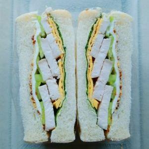 サンドイッチで「後妻業」~♪