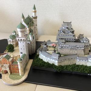 モリーさん 俺作B級『日本の名城とドイツの名城の共演』