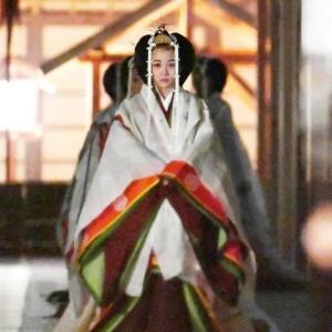 大嘗祭 佳子内親王殿下が美しい