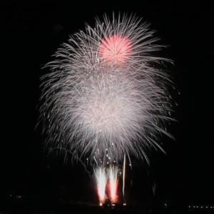 亀岡で花火