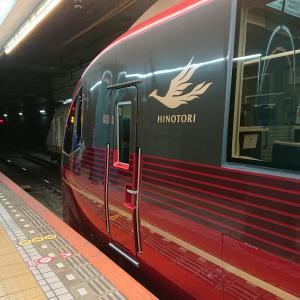 近鉄大阪難波駅から出発前に電車見物
