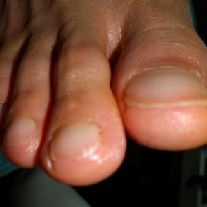 サロンの爪切り