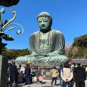 鎌倉の駐車場と散歩