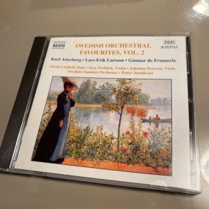 スウェーデンの管弦楽曲集