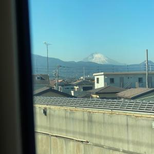 富士がきれいだけど