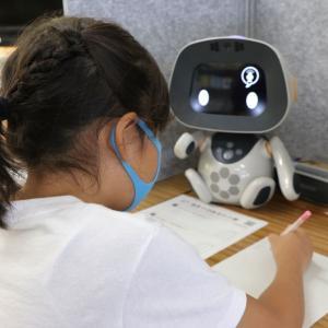 荒川区の小学校でユニボ先生の体験授業
