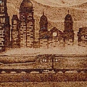 トレインアート 蒸気機関車切り抜き