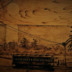 トレインアート 「南国の夜」