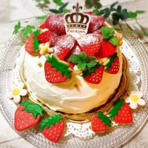 いちご、最強です~♡ ~アイシングクッキー&ケーキ~