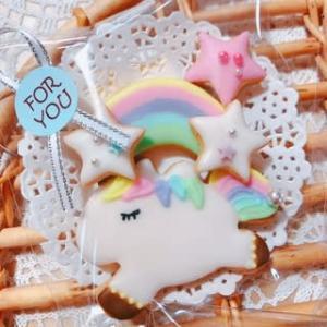 1円に笑うものは1円に泣く、的な?(笑) ~ユニコーン♡アイシングクッキー~