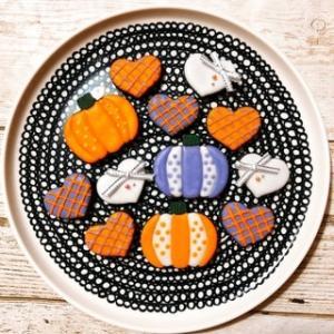 今年のハロウィンお菓子はこれでラスト、です♡ ~アイシングクッキー♡~