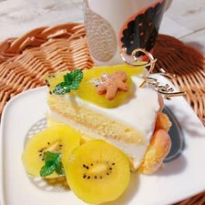 アイシングなしクッキー(笑) ~クリスマス☆レアチーズケーキ~