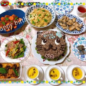 11歳のお誕生日♬︎♡手料理と手作り猫ケーキ!