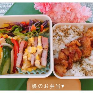 中学女子弁当★No.12(合唱コンクール♪)