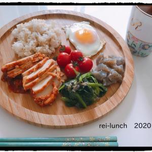 鶏むね肉を美味しく!!健康ワンプレートランチ。