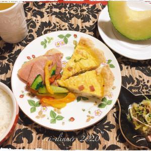 豆腐キッシュと、ハムづくしメニュー!