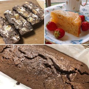 バナナヨーグルトケーキ、チョコのお菓子など!