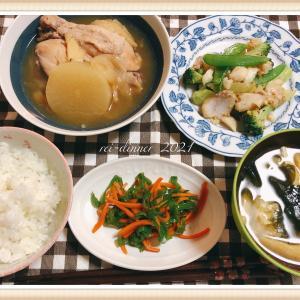 シンプルご飯。お肉もお魚も!