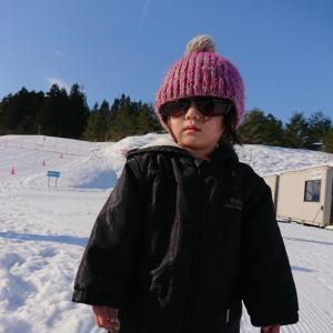 スキー場と節分