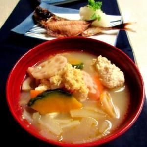 主菜のスープ
