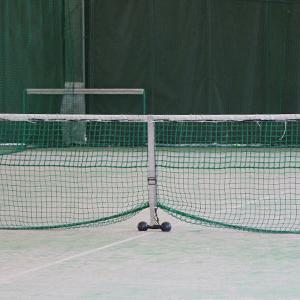 テニス教室と空き缶拾い