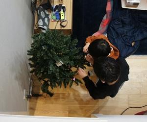 クリスマス飾り付け_2020