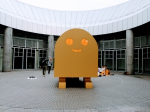 黄色い茶室