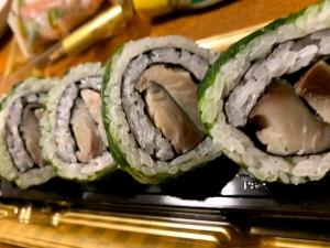 金華鯖の広島菜巻きがおいしい!