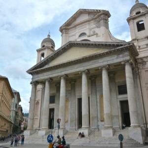 北イタリア 6−7 ジェノバ 7 サンティッシマ・アヌンツィアータ聖堂