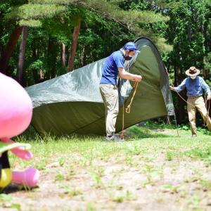 なすびさんが半田山自然公園でデイキャンプに挑戦!