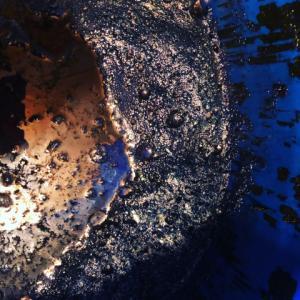 天然灰汁建本藍