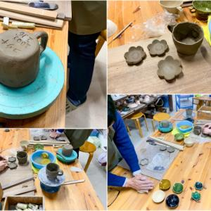 本日の陶芸教室 Vol.992,993