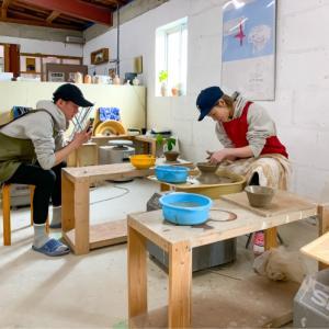 本日の陶芸教室 Vol.1001