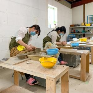 本日の陶芸教室 Vol.1038