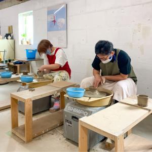 本日の陶芸教室 Vol.1048