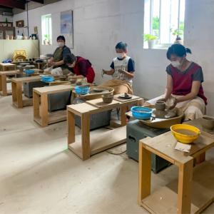 本日の陶芸教室 Vol.1050,1051,1052